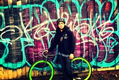 Noah and his new Atir Fixie atircycles.com #singlespeed#fixedgear#fixie#bicycles#Portland#Oregon#PDX#bicycles