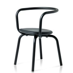 the Parrish collection of chairs and tables by Konstantin Grcic for Emeco