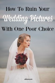 Many brides unintentionally ruin their wedding pictures because they don't know this basic principle of color. Save the next bride in your life from this mistake.