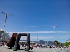 bebetecavigo. Estación marítima de Vigo.  bebetecavigo