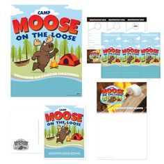 91 Best Camp Moose On The Loose Vbs 2018 Images Moose