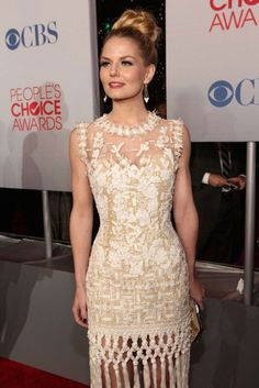 Jennifer Morrison at 38th People's Choice Awards in Los Angeles...