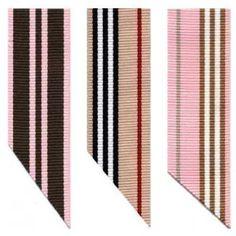 Preppy Stripe Ribbon