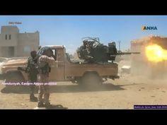Guerra na Síria - Curdos versus ISIS na batalha por Manbij