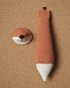 Disfraz de zorrito con crochet