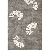 Found it at Wayfair - Florida Shag Light Gray Area Rug  $209 for 8x10