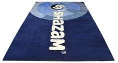 Fully bespoke Logo Rug for Shazam - different view :)