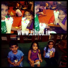 Our kids are ready with yummy ice cream ;)  Ice Cream making workshop at Mumbai.   For more details do check www.zibica.in or call us on 9967781015 for workshops!! - http://ift.tt/1LmQuSg #handmade #happinessishandmade #personalized #handmadegift #gifts #personalizedgifts #personalised #personalisedgifts #giftforgirlfriend #birthdaygift #anniversary #anniversarygifts #boyfriend