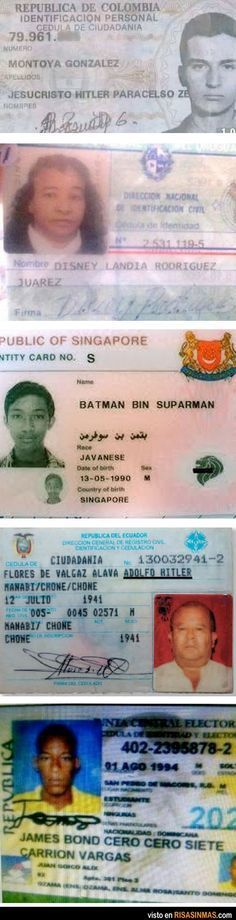 En Venezuela tambien hay supermanes y batman