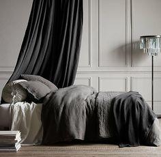 Classic Bedroom in Greys