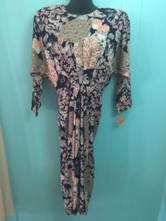 Ladies Sz 6 NWT Positive Influence Vintage Dress $56 Tag! Belk Lindsey Pleated #PositiveInfluence #AsymmetricalHem #Casual