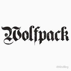 Wolfpack Distressed