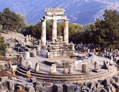 Delphi, Greece where St. Paul preached and evangelized.