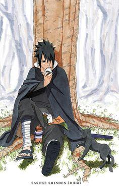 Sasuke Uchiha, by Kiragera Naruto Shippuden Anime, Naruto Art, Sasuke, Manga Covers, Anime, Anime Characters, Naruto Pictures