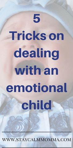 Are you trying to cope with an emotional child? Try these amazing tips on ways you can use to deal with your emotional children.