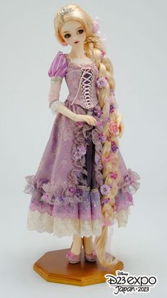 Super Dollfie Rapunzel [D23 Expo - Japan] - Yahoo Auctions! ~ I wish I had 4k laying around for her.