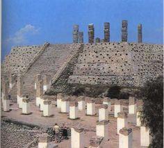 Zona Arqueológica de Tula Hidalgo, México.