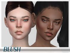 ShojoAngel's FaceBlusherSet1 – Sims 4 Updates -♦- Sims 4 Finds & Sims 4 Must Haves -♦- Free Sims 4 Downloads