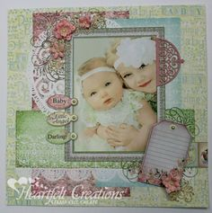 Cuddly Baby Layout by Emma Lou Beechy