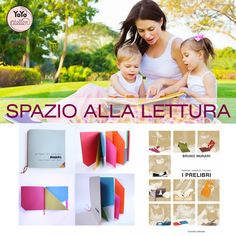 YoYo atelier | SPAZIO ALLA LETTURA  #books #readwithyourchild #reading #brunomunari #libriilleggibili #prelibri #children #bambini #lettura . Click through right now to read the entire post!