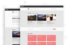 Great Chipmunk - HTML Theme for Curators  CreativeWork247 - Fonts, Graphics,...