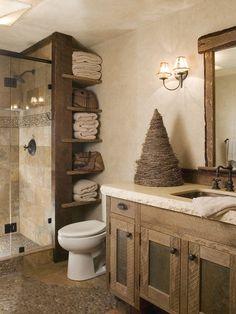 Lovely DIY Rustic Bathroom designs to consider for your home decor Rustic Urban Bathroom #rustic_bathroom & Del Conca 6\