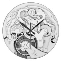 Vintage Mechanism Wallclock #wallclock #clocks