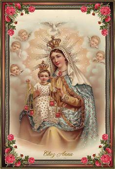 16 de Julho - Nossa Senhora do Carmo ++++++++++++++++++++ https://es.pinterest.com/betseyjo88/realms-of-heaven/