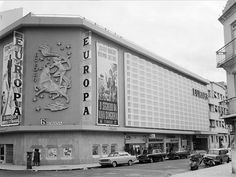 Cinema Europa, Lisboa, Portugal by Biblioteca de Arte-Fundação Calouste Gulbenkian, via Flickr