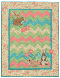 Animal Parade quilt pattern by Cheri Leffler