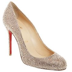 i think i've found the ones! Christian Louboutin Fifi 100mm Pumps Strass Gold Red Sole Shoes For Sale,Discount Louboutins Pumps