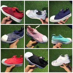 e265b4665d9f62 Adidas superstar slip on kids unisex hot fashion stylish shoes