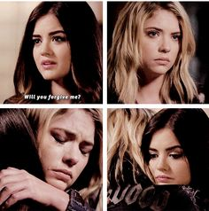 PLL 5x09 - I'm SO glad that Aria and Hanna get along with each other again :)