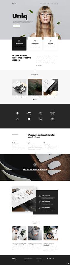 Minimal Theme, Design Concepts, Minimalism, Website, Creative