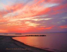 Sunset on Presque Isle, Erie, PA - Summer Sunset