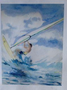 Windsurfing.....