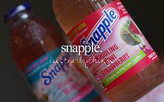 And in the morning i'm having Snapple. @Willow Fern