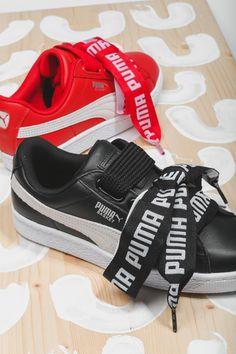 Las Puma Basket Heart que lleva Cara Delevingne ya están disponibles en Zapatos Mayka