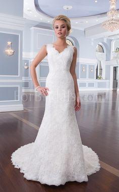 Mermaid V-neck Lace Wedding Dresses