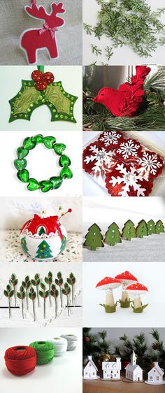 Christmas Elf Supplies by Jeannie on Etsy--Pinned with TreasuryPin.com