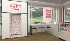 Related image Coco Games, Chanel, Pop, Interior, Juices, Singapore, Counter, Marketing, Store