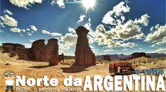 Felipe, o pequeno viajante: vídeo de viagem pelo norte da Argentina - II parte (o retorno)