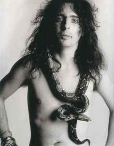 Alice Cooper by David Bailey.