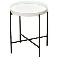 Stolik składany okrągły, 38x47 cm - , tylko w empik.com: . Przeczytaj recenzję Stolik składany okrągły, 38x47 cm. Zamów dostawę do dowolnego salonu i zapłać przy odbiorze!