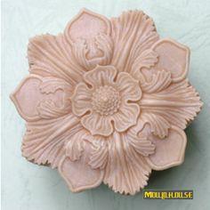 sabonetes decorados moldes de sabo moldes de silicone molde do bolo sabonetes caseiros gel de slica velas artesanais velas esculpidas big flowers