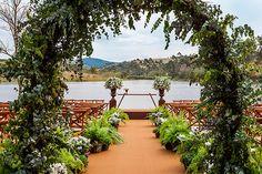 A decoração deste casamento na Fazenda Lageado