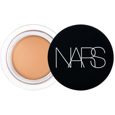 NARS Soft Matte Concealer ($30) ❤ liked on Polyvore featuring beauty products, makeup, face makeup, concealer, hazelnut, dark circle concealer, oil free concealer and nars cosmetics