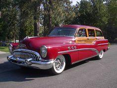 1953 Buick Roadmaster Super Series 50 Woody Estate Wagon