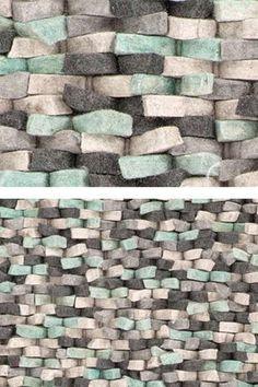 Vloerkledenwinkel Selected Crush Mint. Detail