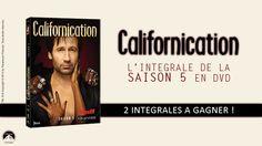 Qui veut les DVD de la saison 5 de #Californication ? Tentez de les gagner avec #BrainDamaged